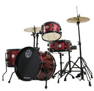 Ludwig Pocket Kit by Questlove in Wine Red Sparkle
