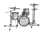 Ludwig Questlove Breakbeat Signature Kit In White Sparkle