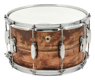 Ludwig 8 x 14 Copperphonic Snare Drum Natural