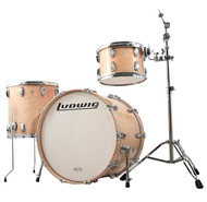 Ludwig Legacy Exotic 3pc Shell Pack in Birdseye Maple