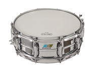 Ludwig 5x14 Supra-Phonic With Blue And Olive Badge