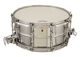 Ludwig 6 1/2x14 Super Sensitive Metal Snare Drum