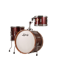 "Ludwig Club Date ""Downbeat"" 3pc Shell Pack In Ruby Sparkle"