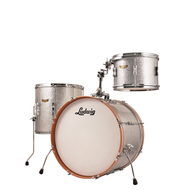 "Ludwig Club Date ""FAB3"" Shell Pack Silver Sparkle"