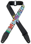 "Levys 2"" Art for Sickos Sublimation Printed Guitar Strap"