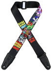 "Levys 2"" Girls Girls Ghouls Sublimation Printed Guitar Strap"