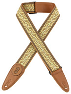 "Levys MGJ2 2"" Woven Wheat Field Jacquard Guitar Strap"