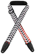 "Levys 2"" Converse Shoe Lace Sublimation Printed Guitar Strap"