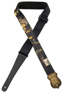 "Levys 2"" Dust Bowl Route 66 Sublimation Printed Guitar Strap"