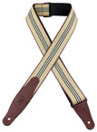"Levy's WSSW80 2"" Woven Center Stripe Guitar Strap"