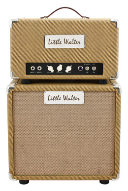 Little Walter Tweed JP-22 and 112 Cab with Blue Alnico Speaker