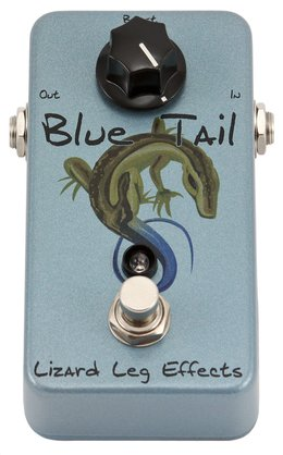 Lizard Leg Effects Blue Tail Bass Boost Pedal