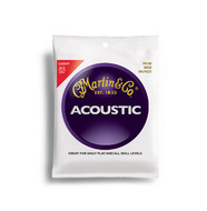 Martin Traditional 80/20 Bronze Acoustic Guitar Strings Light