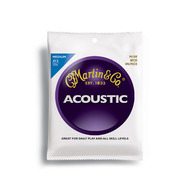 Martin Traditional 80/20 Bronze Acoustic Guitar Strings Medium
