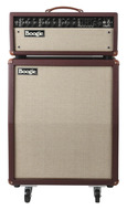 Mesa Boogie Mark V Head with 212 Vert Cab British Cabernet Tolex