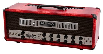 Mesa Boogie Stiletto Duece II Head - Patent Red Snakeskin