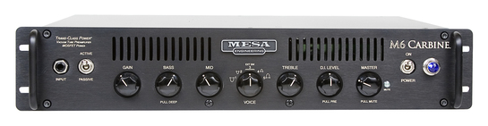 Mesa Boogie M6 Carbine<BR>600 Watt Rack Mount Bass Amp