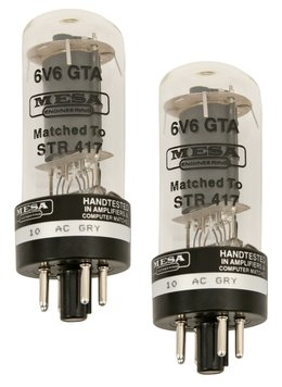 Mesa Boogie 6V6 Tubes <BR>Matched Pair 