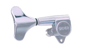 Grover Four-In-Line Chrome Bass Tuners/Tuning Keys