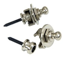 Schaller Strap Locks Nickel