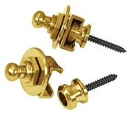 Schaller Strap Locks Gold