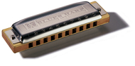 Hohner Bb Blues Harp Harmonica