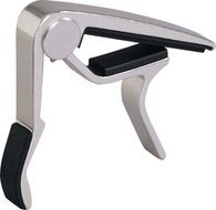 Dunlop Trigger Acoustic Guitar Capo, Nickel