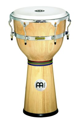 "Meinl Floatune Series Wood Djembe, 12 3/4"" Natural"