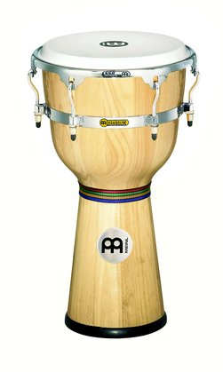 Meinl Floatune Series Wood Djembe, Natural 12""