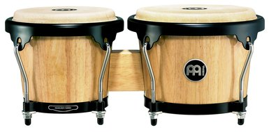 Meinl Headliner Series Wood Bongos, Natural Finish