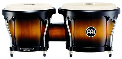 Meinl Headliner Series Wood Bongos, Vintage Sunburst Finish