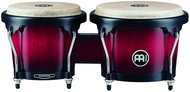 Meinl Headliner Series Wood Bongos, Wine Red Burst Finish