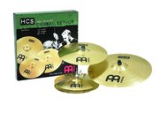 "Meinl HCS Cymbal Set Up, 14"" HiHat, 16""Crash, 20""Ride"
