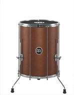 "Meinl Stand Alone Wood Surdo 16"" X 20"" With Legs African Brown"