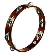 Meinl Wood Tambourine, Steel Jingle