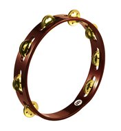 Meinl Wood Tambourine, Brass Jingle