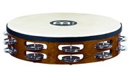 Meinl Headed Wood Tambourine, Steel Jingles