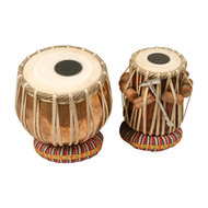Mid-East Tabla Set Copper Bayan With Case
