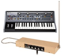 Moog Etherwave Plus Theremin and Moog Little Phatty Bundle