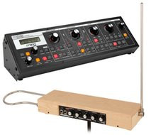 Moog Etherwave Plus Theremin and Moog Slim Phatty Bundle