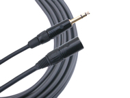 Mogami 3 Foot Gold TRS-XLRM Balanced Cable