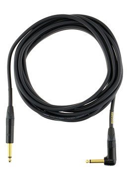 Mogami 18 Foot Instrument Cable with Right Angle
