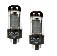 Tung-Sol 6V6GT Tubes Matched Pair