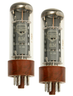 Mullard EL34 Tubes Matched Pair