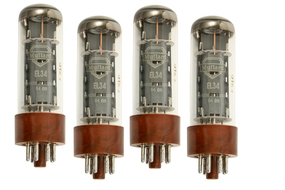 Mullard EL34 Tubes Matched Quartet