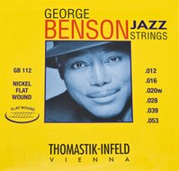Thomastik George Benson Flatwound Jazz Guitar Strings with Wound G