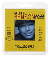 Thomastik George Benson Roundwound Jazz Guitar Strings with Wound G