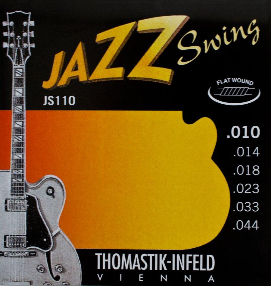 thomastik flatwound jazz guitar strings jazz swing rainbow guitars. Black Bedroom Furniture Sets. Home Design Ideas