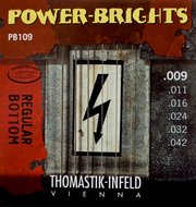 Thomastik Power Brights Electric Guitar Strings Regular Bottom 9-42