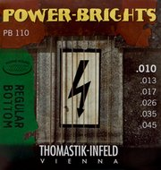 Thomastik Power-Brights Electric Guitar Strings Regular Bottom 10-45